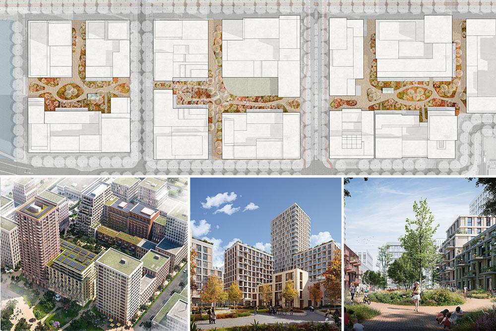 impressie ontwerp openbare ruimte